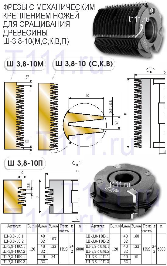 фрезы для обработки пазов сегментных шпонок аквастоп